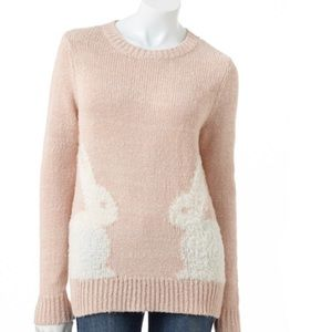 Lauren Conrad bunny sweater
